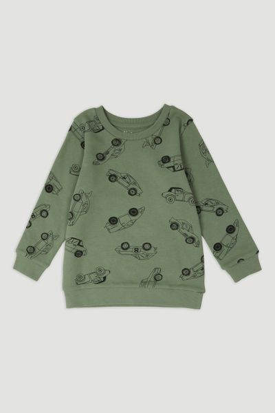 Khaki Car Sweatshirt
