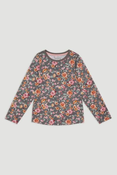 Flower Long Sleeve T-Shirt