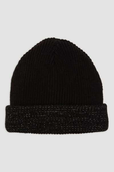 Reflective Trim Beanie Hat