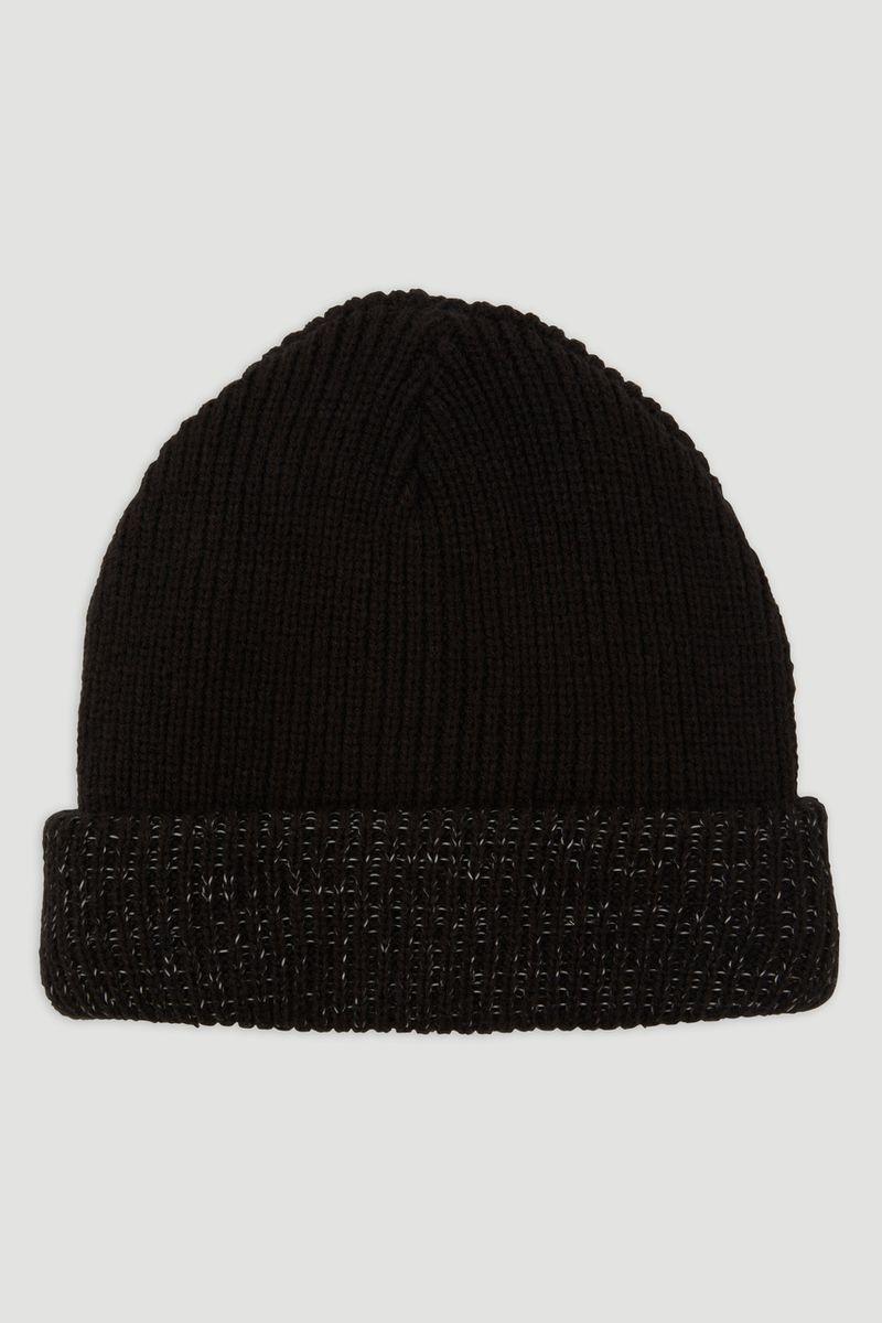 Reflective Trim Beanie Hat