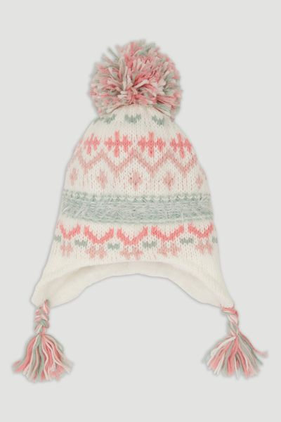 Fairisle Trapper Hat