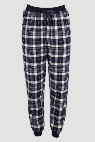 Heart Check Pyjama Bottoms