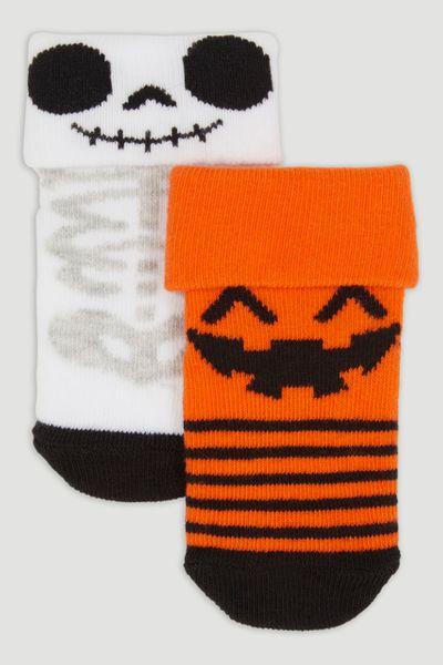 2 Pack Halloween Socks