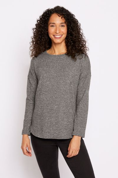 Grey Marl Top