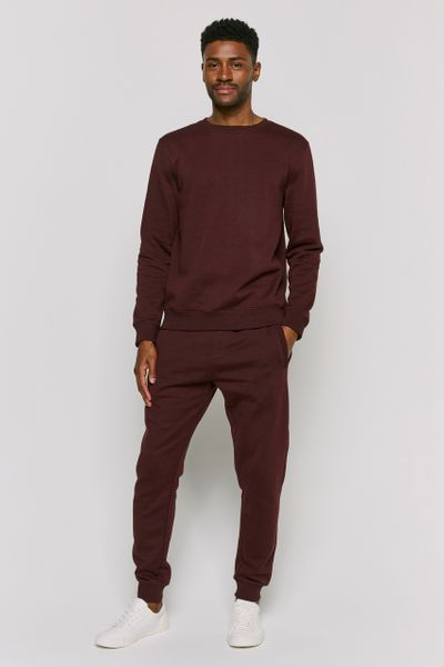 Burgundy Co-ord Sweatshirt