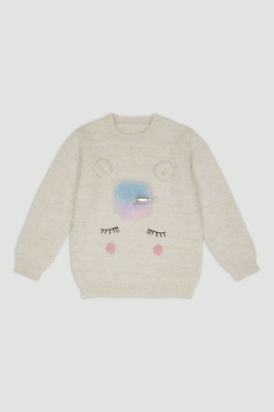 Fluffy Unicorn jumper