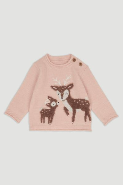 Peach Deer Jumper