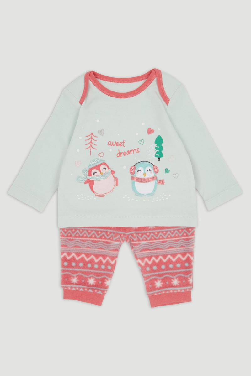 Penguin Fleece pyjamas
