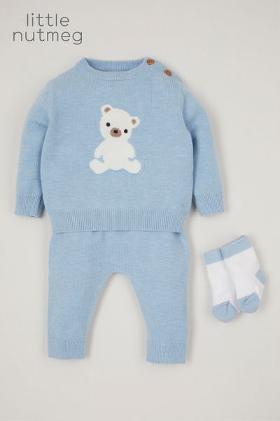 Little Nutmeg 3 Piece Bear set