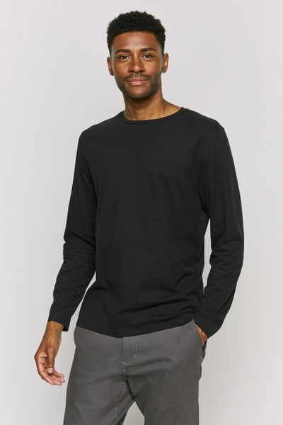 Black crew Neck Top