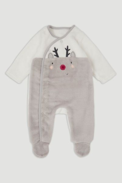 Reindeer Fleece Onesie