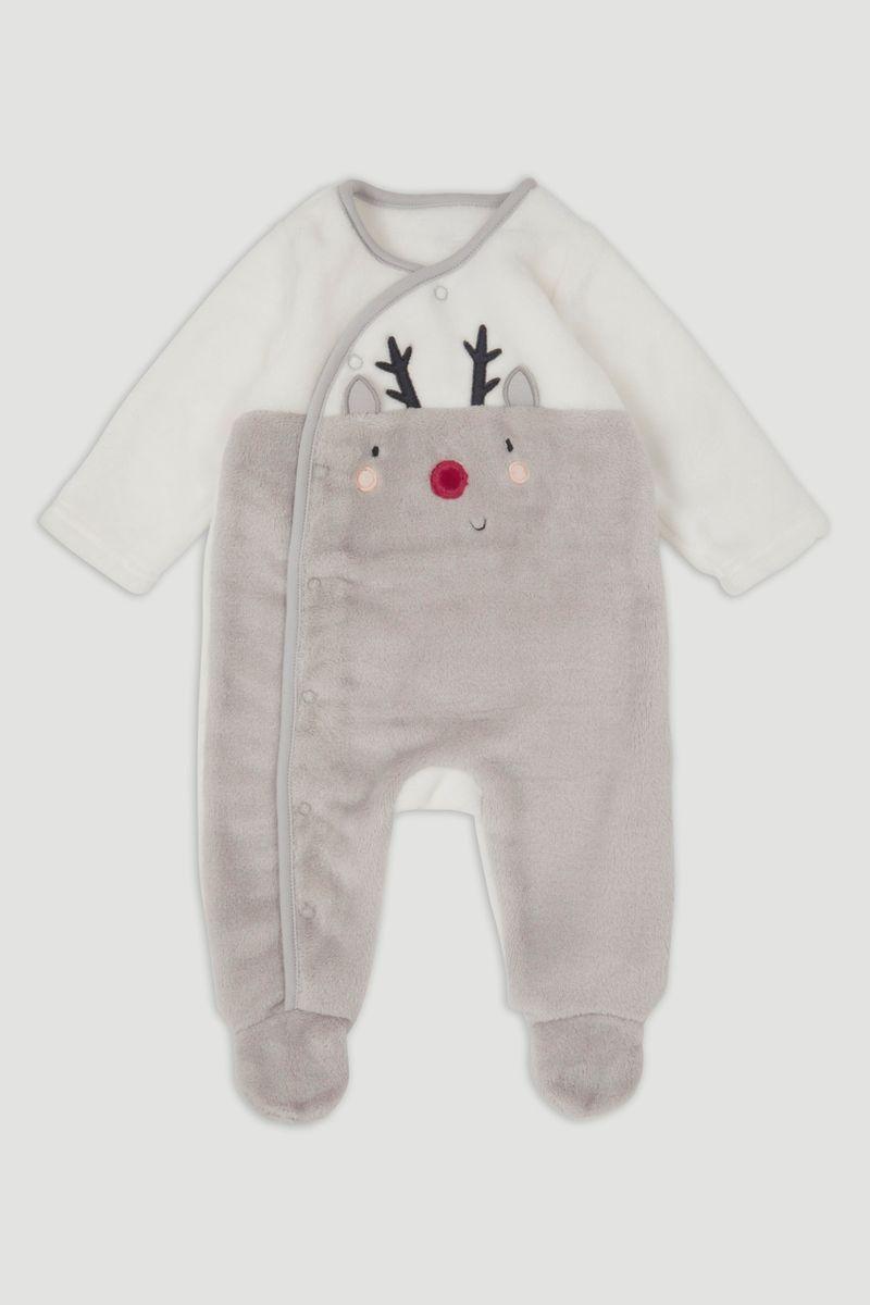 Reindeer Fleece Onesie