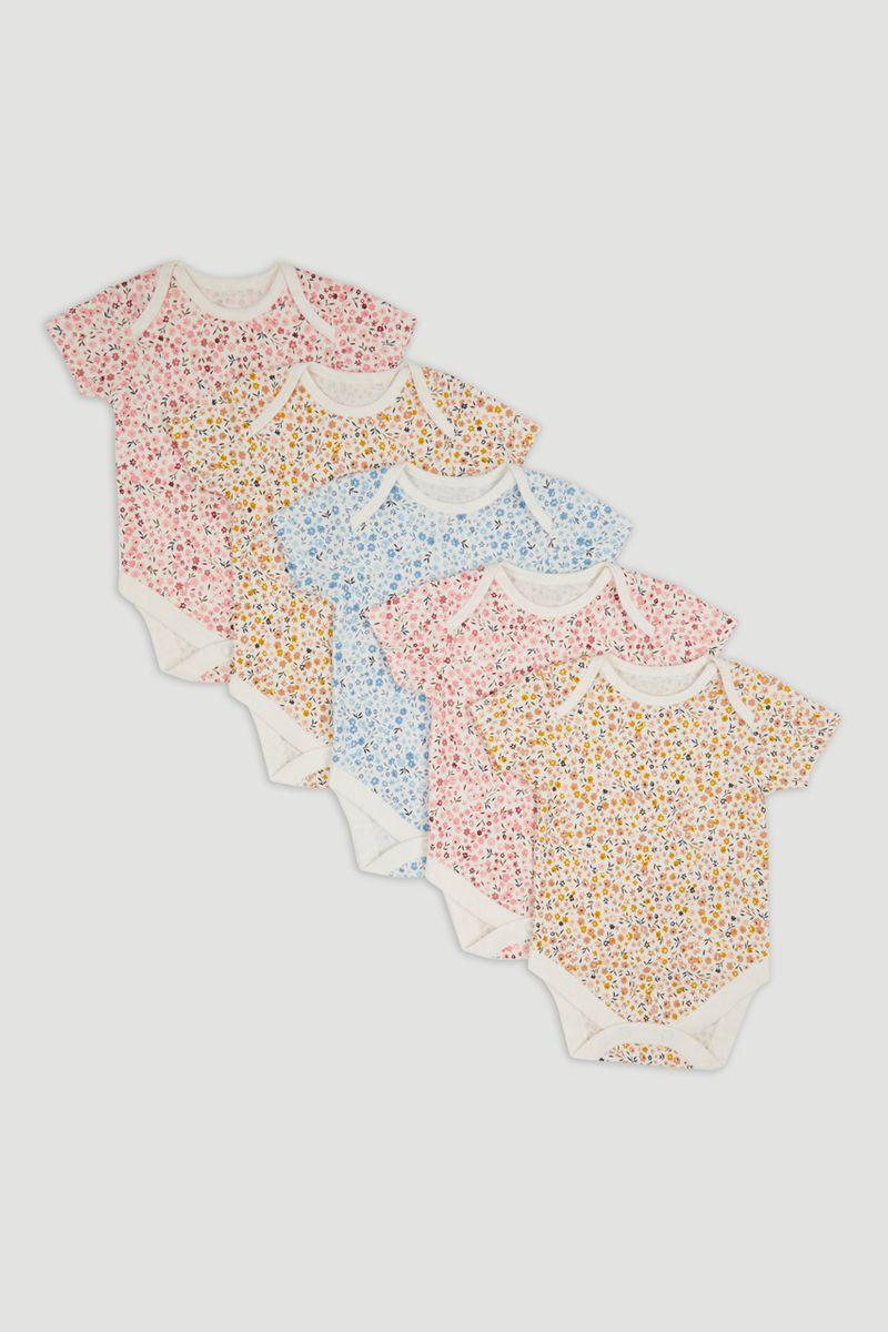 5 Pack Flower bodysuits