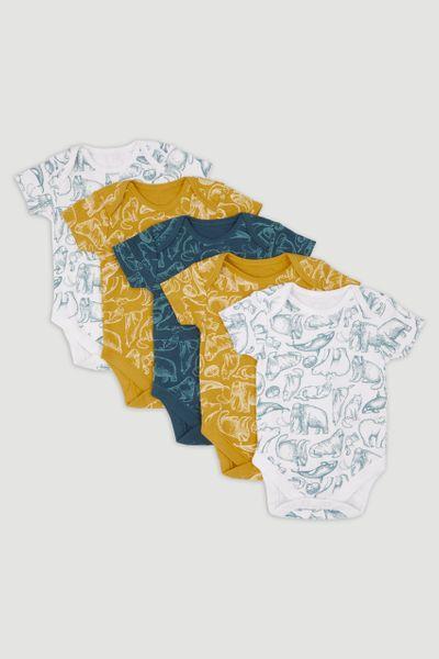 5 Pack Arctic bodysuits