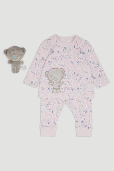 Tiny Tatty Bear Lilac Pyjamas