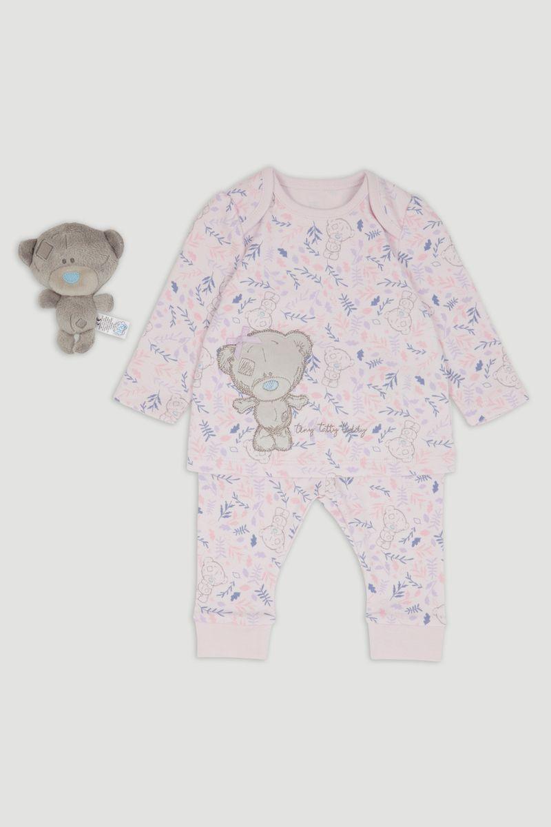 Tiny Tatty Bear Lilac Pyjamas