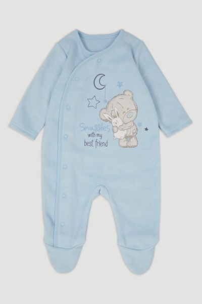 Blue Tiny Tatty Fleece Onesie
