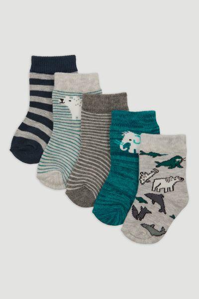 5 Pack Arctic Socks