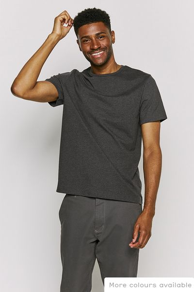 Charcoal Crew Neck T-Shirt