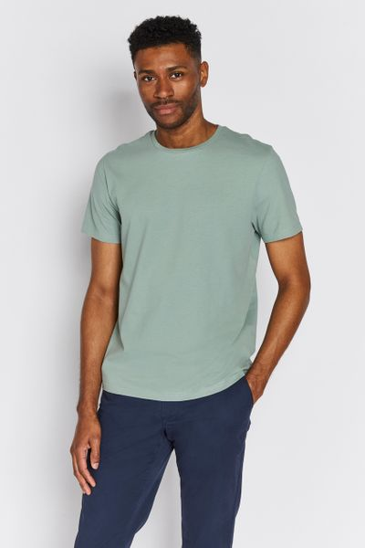 Sage Green Crew Neck T-shirt