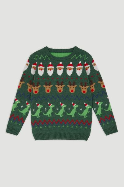 Christmas Fairisle Knitted Jumper