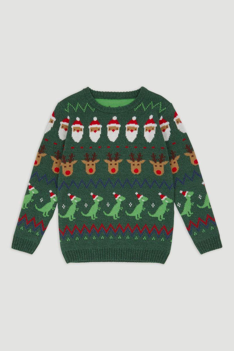Christmas Fairisle Knitted Jumper