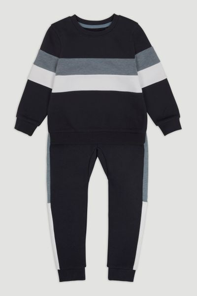 Colour Block Jogger Set