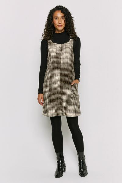 Dogtooth Cord Pinafore