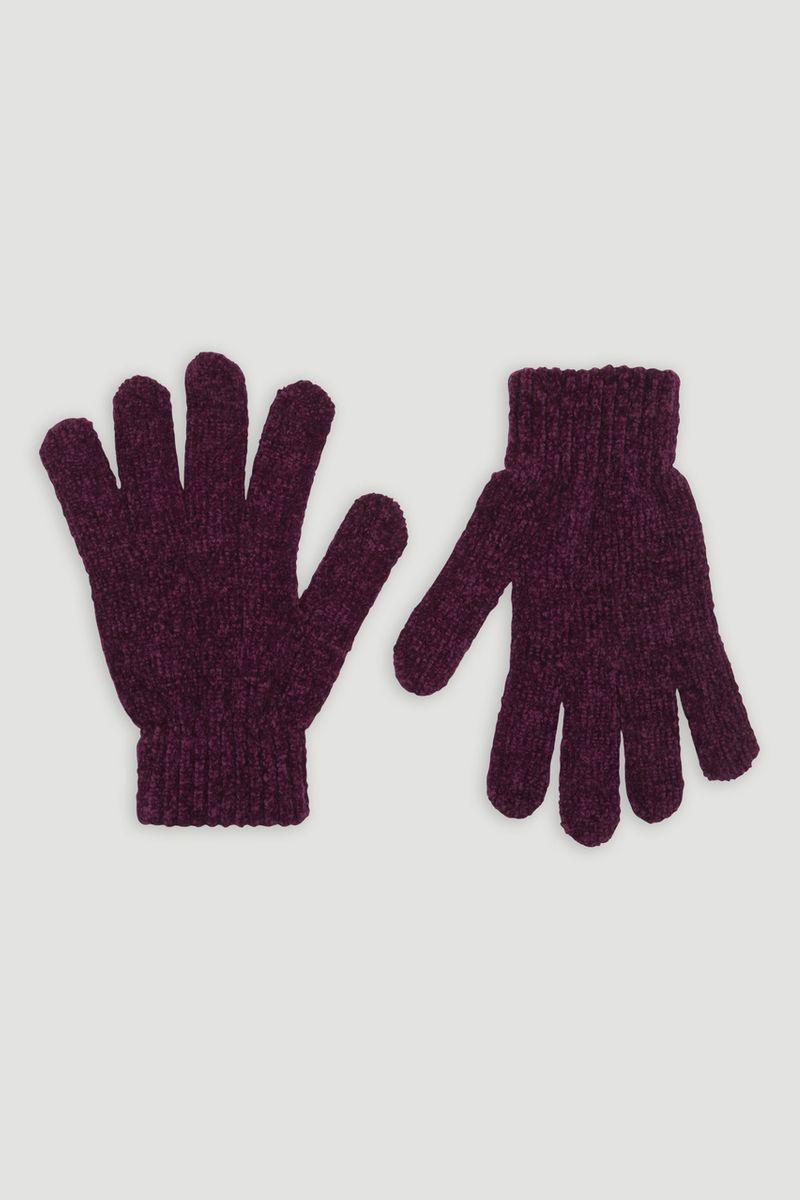 Berry Chenille Gloves