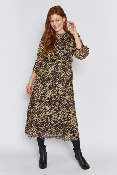 Geo Mesh Dress
