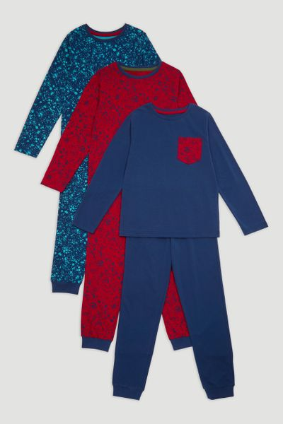 3 Pack Paint pyjamas
