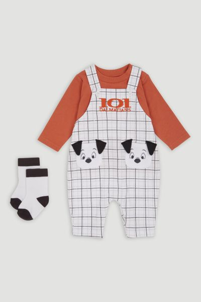 Disney 101 Dalmatians Dungaree Set