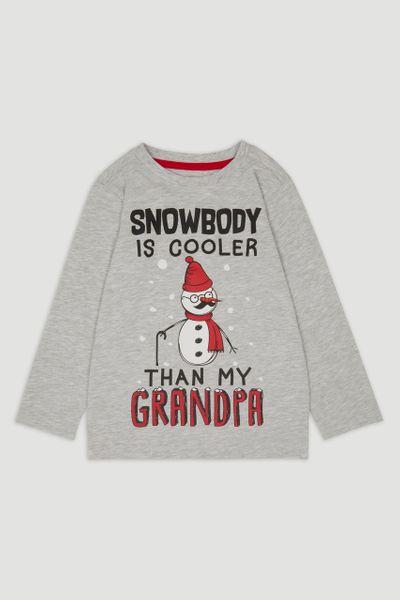 Grandpa Snowman T-shirt