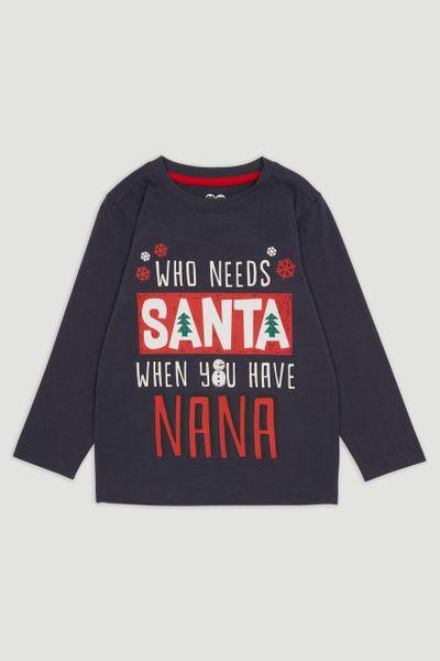Nana Santa T-shirt