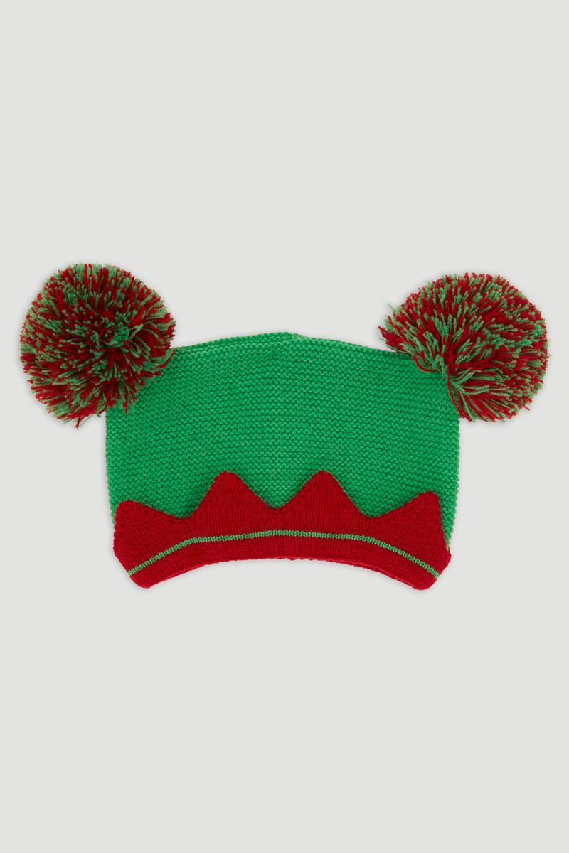 Elf Pom Pom Hat