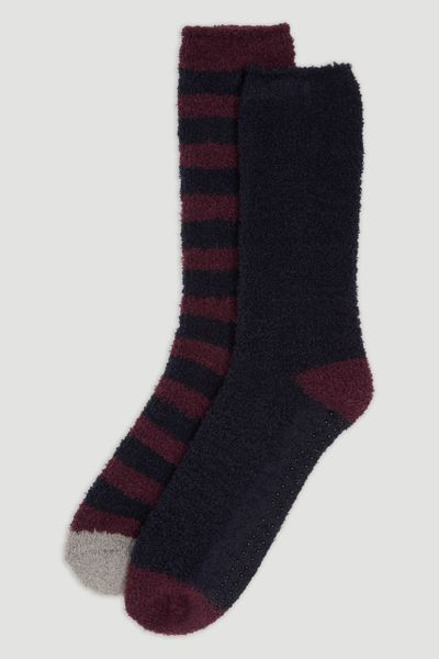 2 Pack Stripe Socks