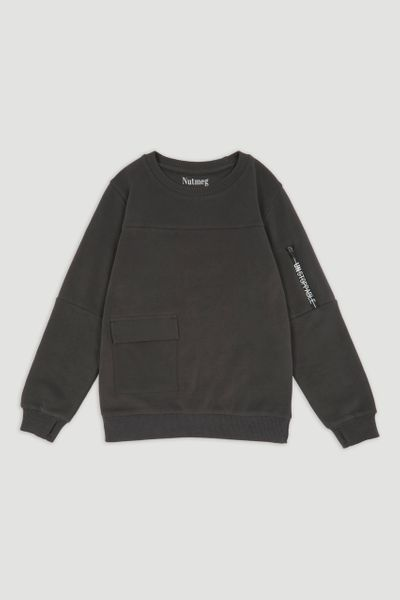 Grey Utility Sweatshirt