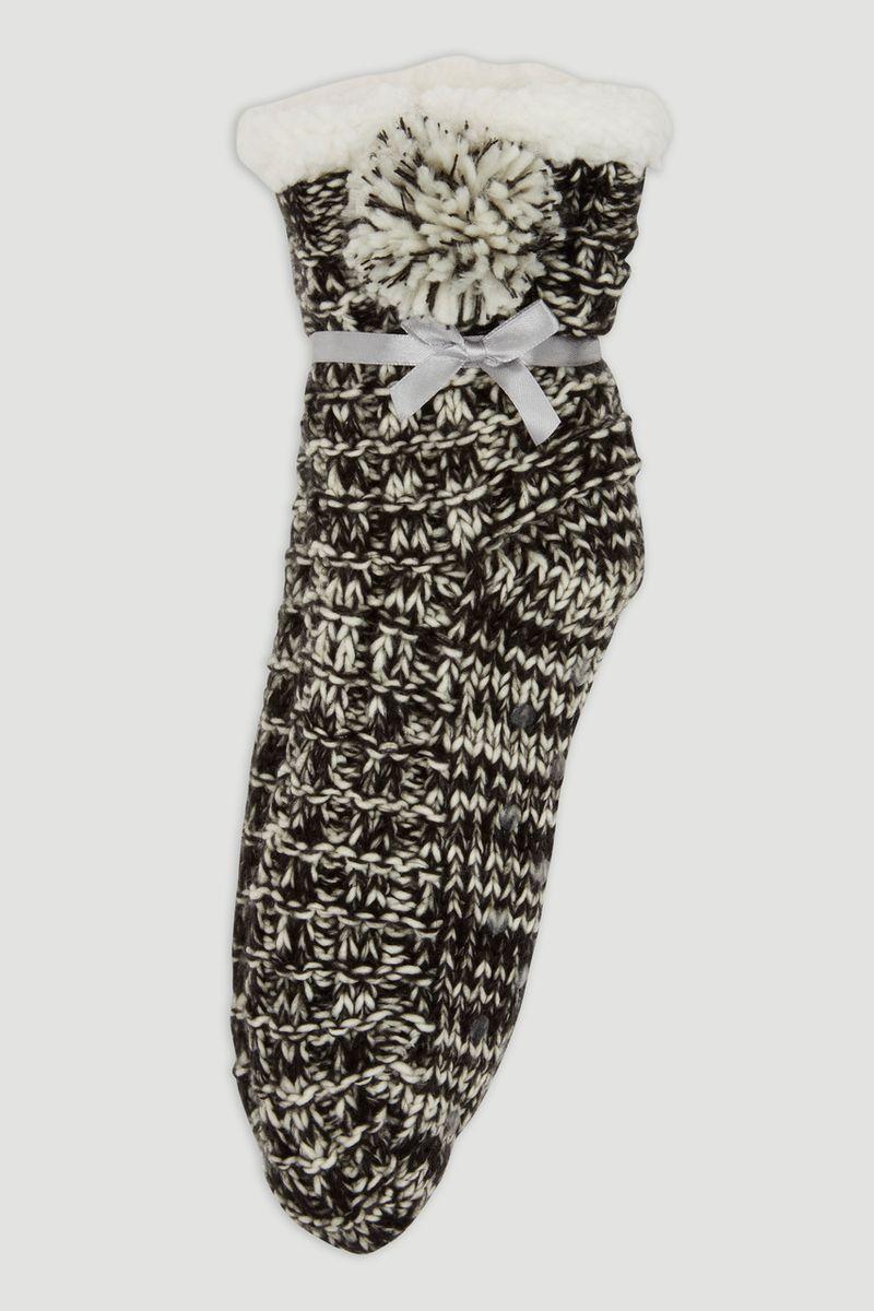 Monochrome Slipper Socks
