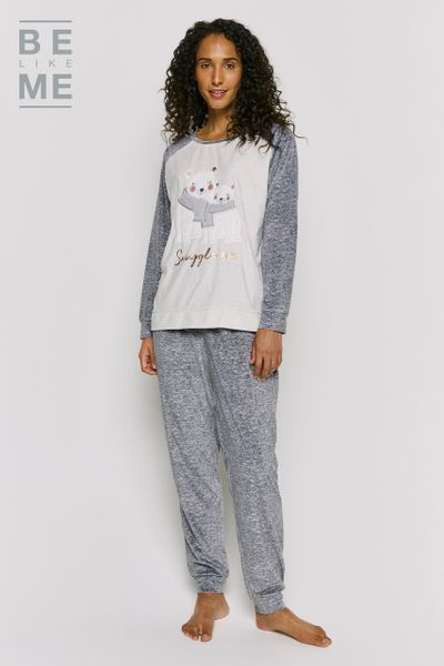 Be Like Me Womens Polar Bear Applique Set