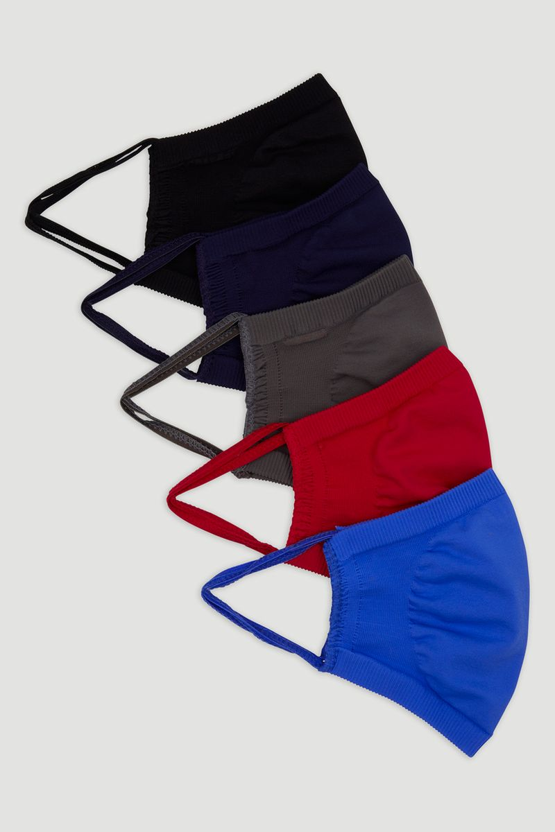5 Pack Mens Face Coverings