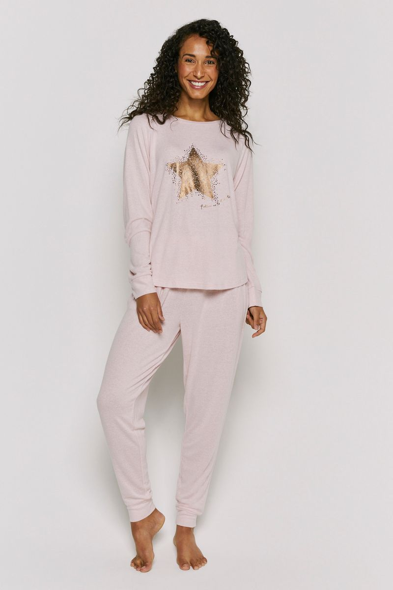Star Print Loungewear Set