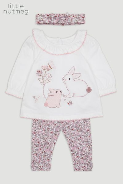 Little Nutmeg 3 Piece Bunny set