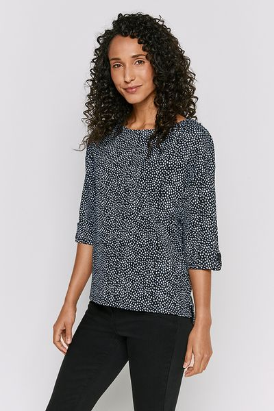 Dotty Print Blouse