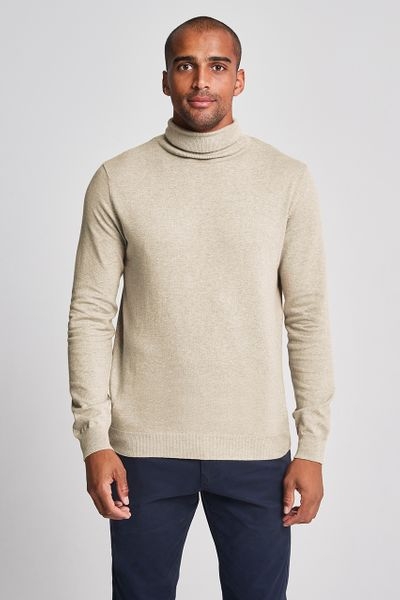 Beige Turtle Neck jumper