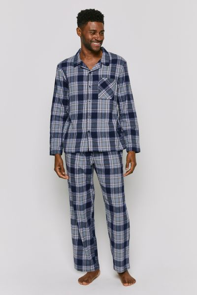 Traditional Blue Check Pyjamas