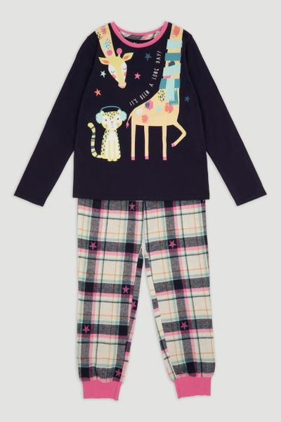 Giraffe Check Pyjamas