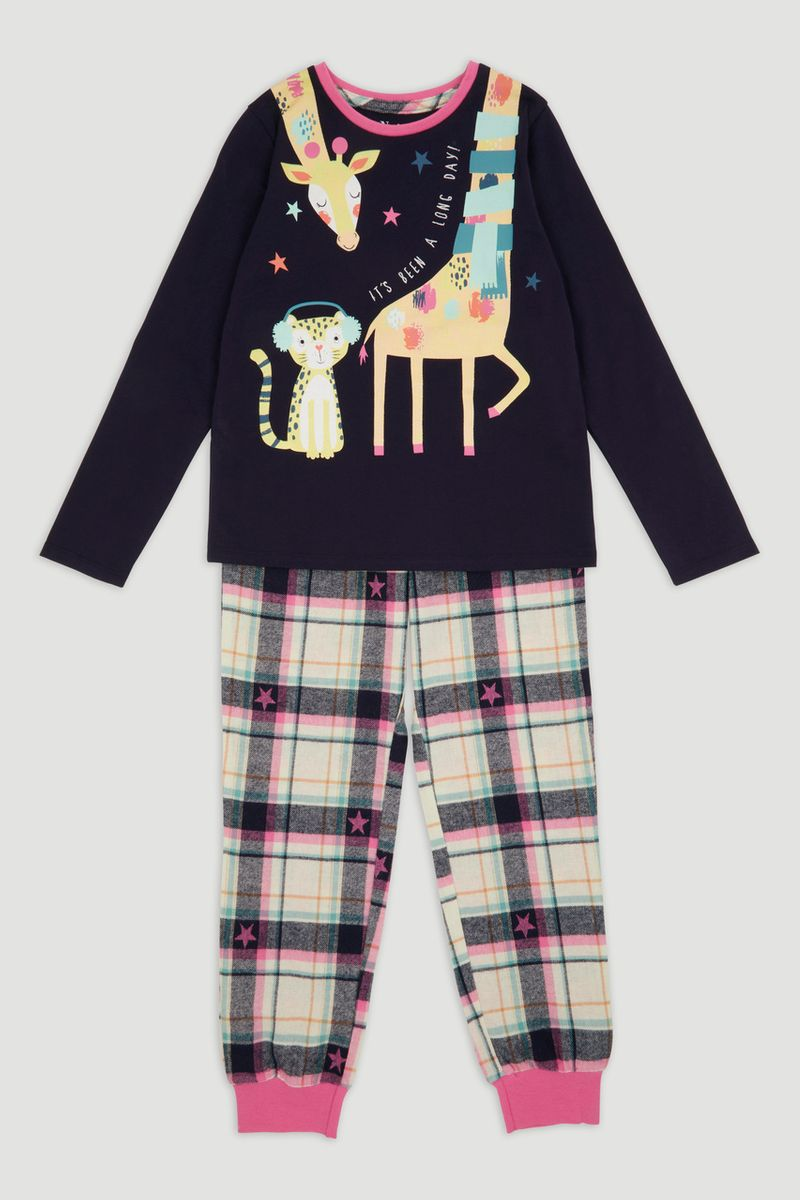 Giraffe Check Pyjamas
