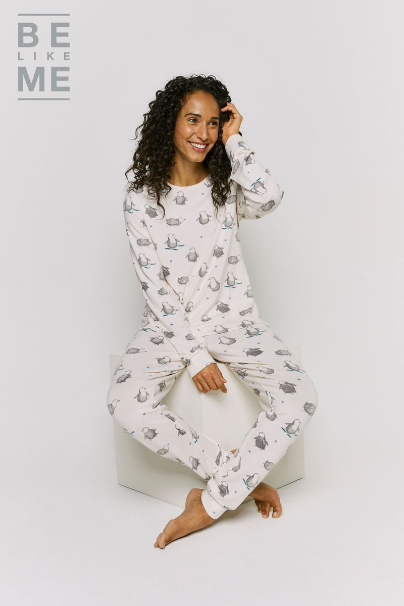 Family Of Womens Christmas Penguin Pyjamas
