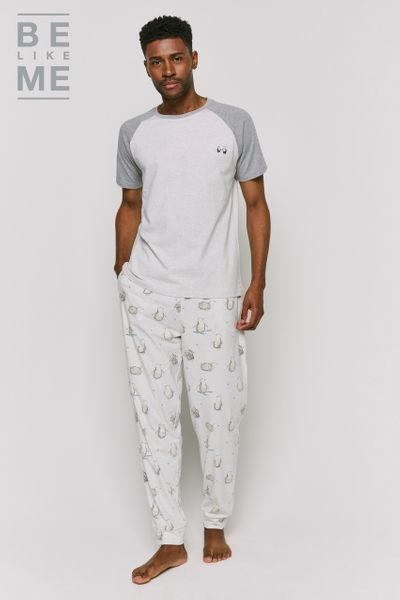 Family Of Mens Christmas Penguin Pyjamas