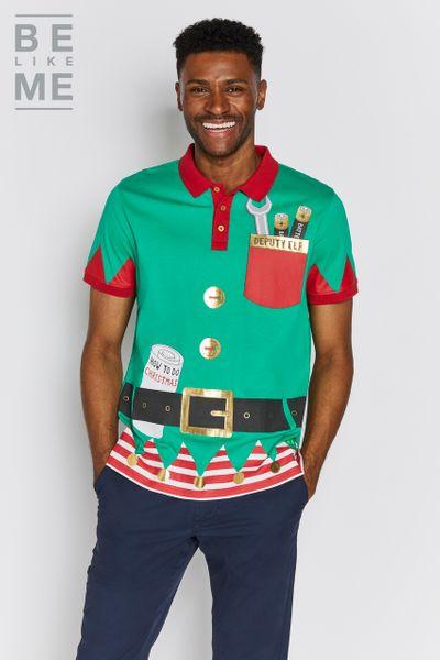Be Like Me Deputy Elf Polo Shirt
